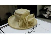 Jacques Vert Ladies Formal Hat Cream