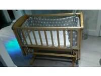 Mothercare Gliding Crib/ cot