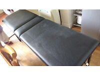 Folding Comfortable Massage Table. Long length Physiotherapy Bench Portable