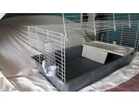 Indoor cage, suitable for Guinea Pigs or Rabbits