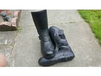 MERLIN Motorcycle boots size 10