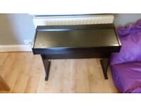 Rockjam 818 Digital Upright Piano with Upright Stand GOOD CONDITION