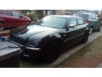 Chrysler 300c V6 3.5 Petrol with MOT, leather interior, limo tinted windows