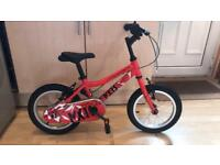 **reduced for quick sale **Ridgeback bicycle red 14 inch frame. Excellent condition