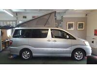 Toyota Alphard - 2002 - 53,710 Miles - 4 Berth Campervan conversion - Automatic