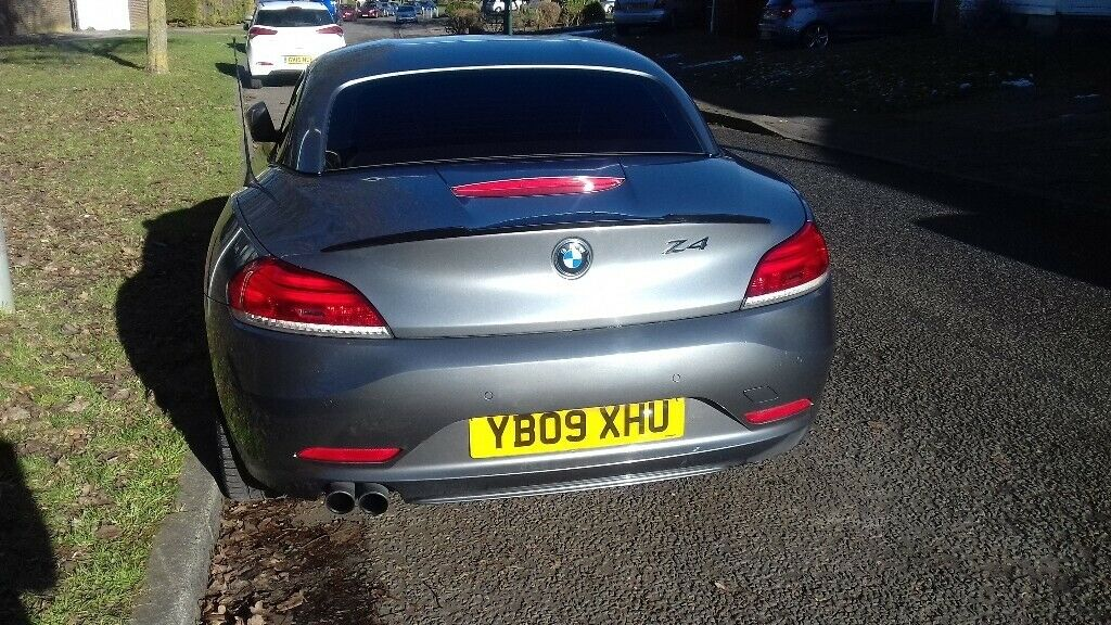 Bmw Z4 2009 Metalic Grey High Mileage Mot May 2019 Grwat Looking