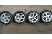 Ford Genuine alloy wheels 16'' + 4 x tyres 205 55 16