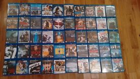 collection of 50 blurays