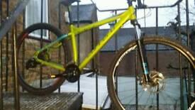 Carrera Sulcata Ltd edition 29er mountain bike 18 inch frame size m/l £170.