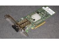 Dell Brocade 825 Dual Port 8Gbps Fibre Channel Host Bus Adapter HBA LP Card