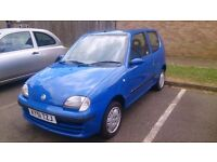 CHEAP LITTLE RUNABOUT, FIAT SEICENTO SX 1.1, 55K MILES, MOT OCT, £395,