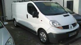 2007 Renault trafic 2.0 spare or repair long mot