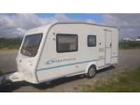 Bailey Discovery 100 - 4 BERTH, CRIS REGISTRED- 2006 MODEL+ MOTOR MOVER + FULL AWNING