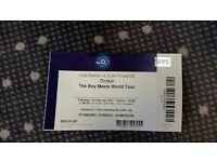 1 standing ticket to see Drake at the O2. LESS THAN FACE VALUE.. 14th Feb