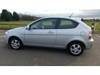 Silver 2008 Hyundai Accent Atlantic (Special Edition) 1.4 Hatch-back - LOW MILES, FSH