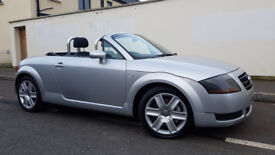 ONLY £2995.THE ULTIMATE CONVERTIBLE.2004 AUDI TT ROADSTER,ELECTRIC ROOF,a4,a3,a6,q7,mini,bmw,z4.m3.
