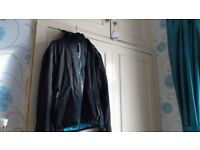 Superdry Windcheater Black/Turquoise Small-Teen/Lady