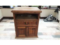 soild Mexican wooden tv unit