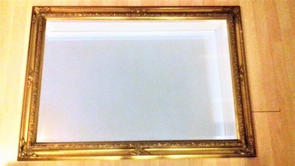 Large Mirror - Gold Detailed Frame - £25ono