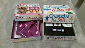 TY matching game and charades for kids game