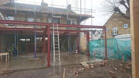 Welding and fabrication services (steel framed buildings,excavator/plant repair, gates and railings