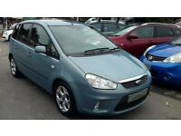 2008/08 FORD C-MAX 1.6 16v ZETEC 5 DOOR, MODERN LOOKING FAMILY CAR WITH AIR CON, AUX/IPOD CONNECTION