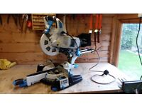 MACALLISTER SLIDING MITRE SAW.