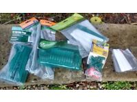 Plant labels, Garden Pegs, Grass Seed Dispenser and other small tools for gardening
