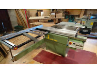 Panel Saw, Planer Thicknesser, Dust Extractor and 3 Phase Converter
