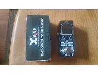 Xvive Chromatic Mini Tuner, for guitar or bass