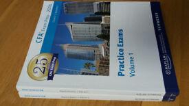 CFA Level 2 Schweser Notes 2016 Practice EXAMS Vol 1 + 2