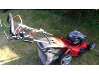 Florabest 18 inch push mower