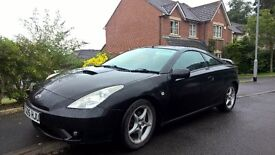 Toyota Celica 1.8 VVTI facelift 2005 (private, lady owner)