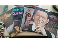 4 LP'S, FRANK SINATRA, ABBA , DUSTY SPRINGFIELD, JOHN DENVER