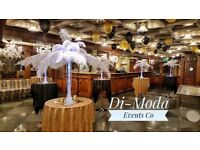 Bespoke Events Wedding/Garden Party/Dinner Decorations centrepieces & hire -ostrich feathers