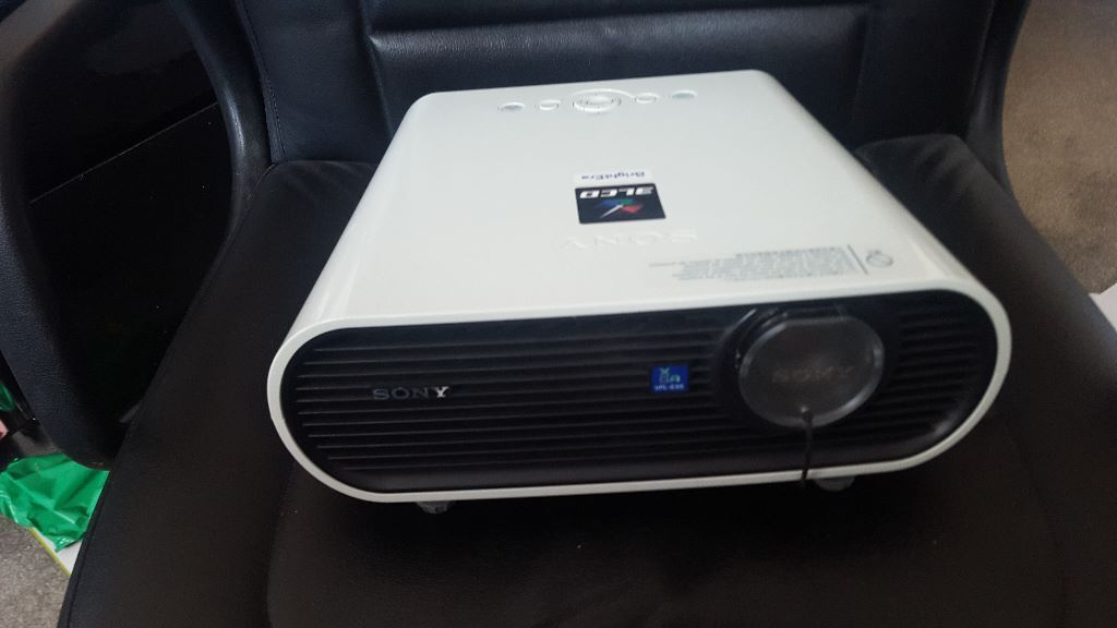 Projector Sony 3lcd Brightera Vpl Ex5 In Rugby