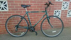 Raleigh Pioneer gents mens hybrid city town commuter Road bike bicycle fully serviced