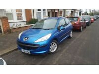 PEUGEOT 207 1.4 2007 57 PLATE. STARTS AND DRIVES SUPERB CLEAN INSIDE & OUT BARGAIN £995