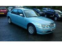 Rover 75 1.8 petrol Automatic Full leather heated seat Full mot