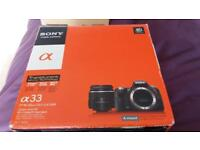 Sonly OL a33 Digital Camera Spares and Repairs