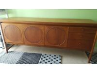 Vintage Nathan Ciecle Sideboard- refurbished in perfect condition
