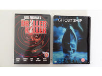 Ghost Ship (DVD, 2003) and The Driller Killer DVD Combo