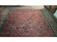 Persian Oriental Hand Knotted Carpet Woolen / Silk 250 x 350 cm