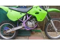BREAKING FOR PARTS ONLY KX 80 / 100 CR 80 YZ 80 / 85