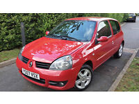 2007 RENAULT CLIO CAMPUS 1.2 PETROL ONLY 62.000ml.ONE OWNER,GREAT COND.