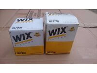 WIX WL7306 and WIX WL7176 Car Oil Filter