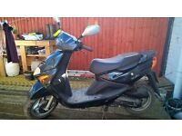 great runner, low mileage, twist n go scooter, 2 careful owners, mot til september