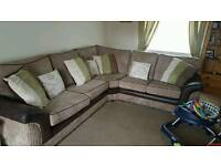 Large right hand corner couch