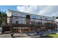 6 Berth Modern Holiday Caravan at Fontygary Leisure Park, lovely sea views from the Decking