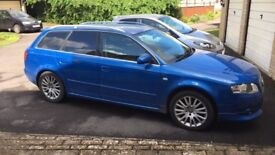 Audi A4 Avant, lovely colour fantastic bodywork, looked after REDUCED !!